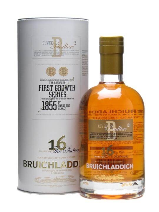 Bruichladdich 16 Year Old First Growth Pauillac Finish 'b' Islay Whisky