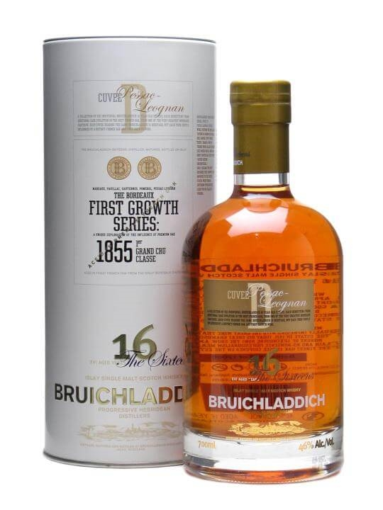 Bruichladdich 16 Year Old First Growth Pessac-leognan Finish Islay Whisky