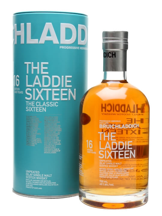 Bruichladdich Laddie 16 Year Old Islay Single Malt Scotch Whisky