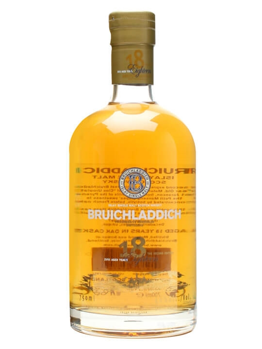 Bruichladdich 18 Year Old / 2nd Edition Islay Whisky