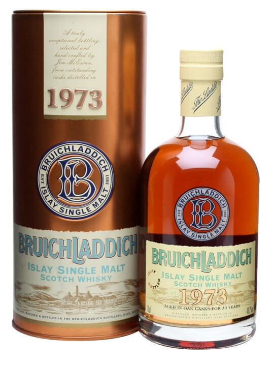 Bruichladdich 1973 / 30 Year Old Islay Single Malt Scotch Whisky