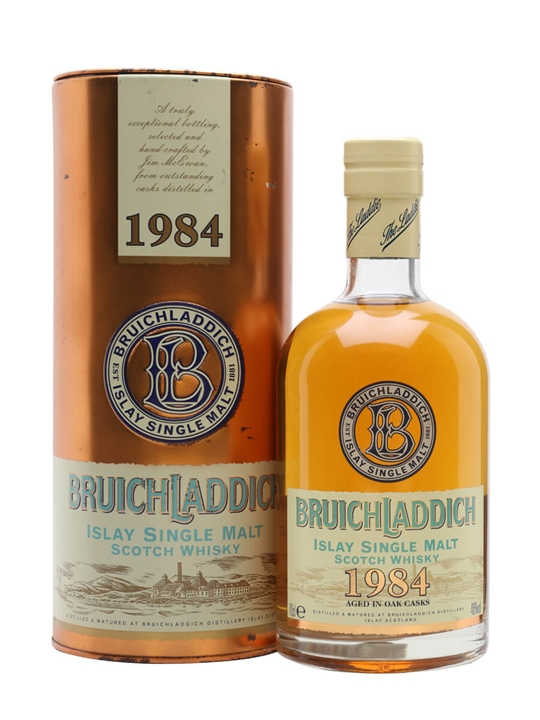 Bruichladdich 1984 Islay Single Malt Scotch Whisky