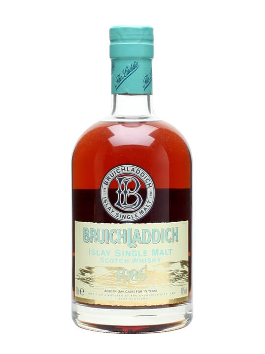 Bruichladdich 1986 / 15 Year Old Islay Single Malt Scotch Whisky