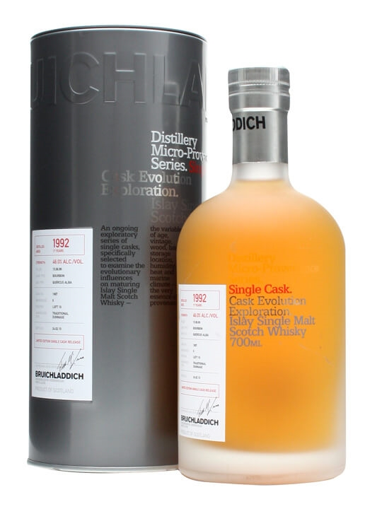Bruichladdich 1992 / Micro Provenance / Ex-bourbon #1607 Islay Whisky