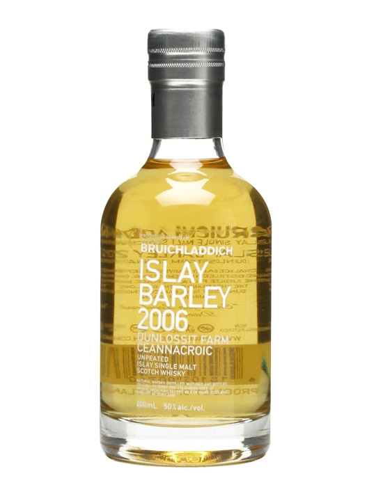 Bruichladdich 2006 Islay Barley / Small Bottle Islay Whisky