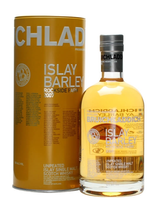 Bruichladdich Islay Barley 2007 Islay Single Malt Scotch Whisky
