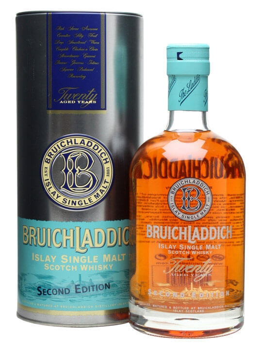 Bruichladdich 20 Year Old / 2nd Edition / Flirtation Islay Whisky