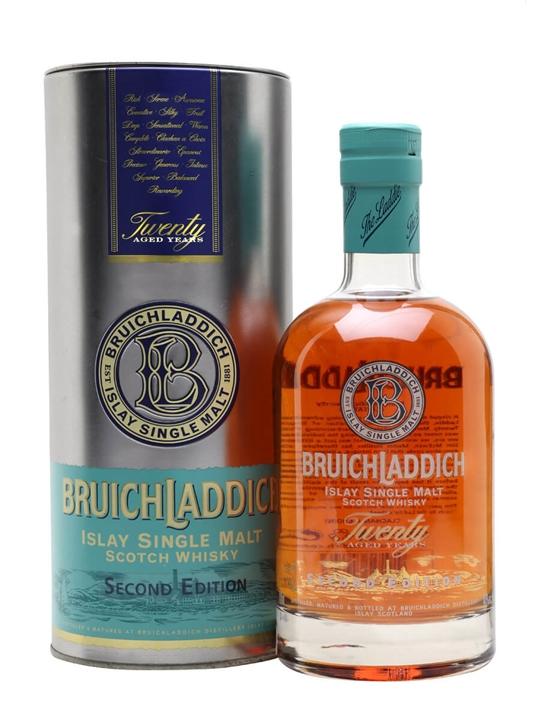 Bruichladdich 20 Year Old / 2nd Edition / Flirtation Islay Whisky