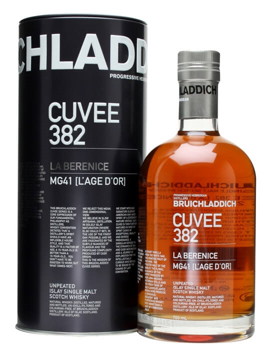 Bruichladdich Cuvee 382 / La Berenice / 21 Year Old Islay Whisky