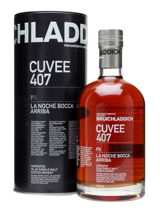 Bruichladdich Cuvee 407 / Px / 21 Year Old Islay Whisky