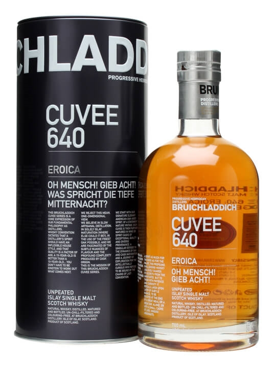 Bruichladdich Cuvee 640 / Eroica / 21 Year Old Islay Whisky