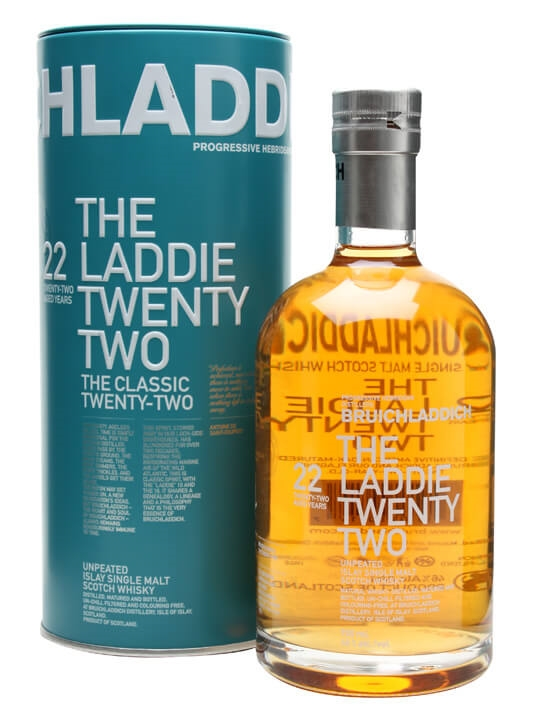 Bruichladdich Laddie 22 Year Old Islay Single Malt Scotch Whisky