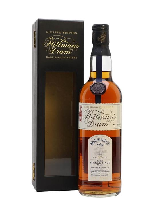 Bruichladdich 27 Year Old / Stillman's Dram Islay Whisky