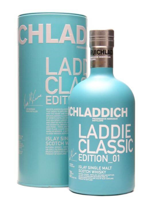 Bruichladdich Laddie Classic Islay Single Malt Scotch Whisky