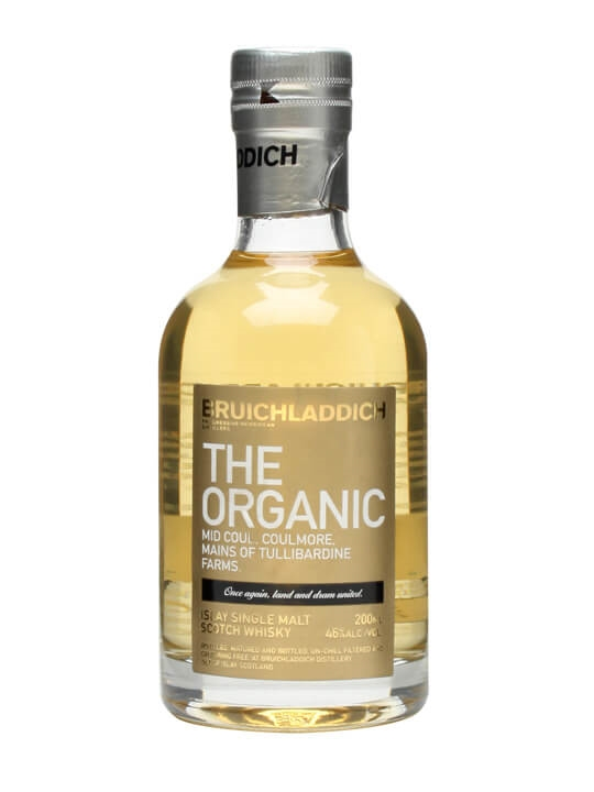Bruichladdich The Organic Multi Vintage / Small Bottle Islay Whisky