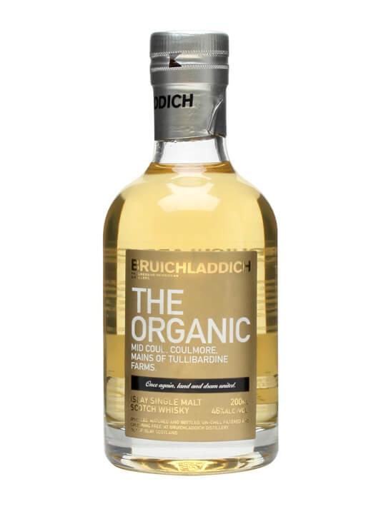 Bruichladdich The Organic Multi Vintage / Small Bottle Islay Whisky