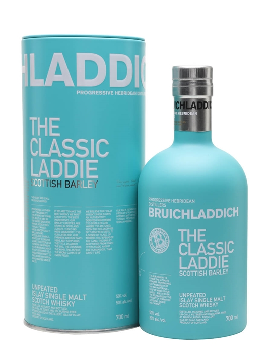 Bruichladdich Scottish Barley Islay Single Malt Scotch Whisky