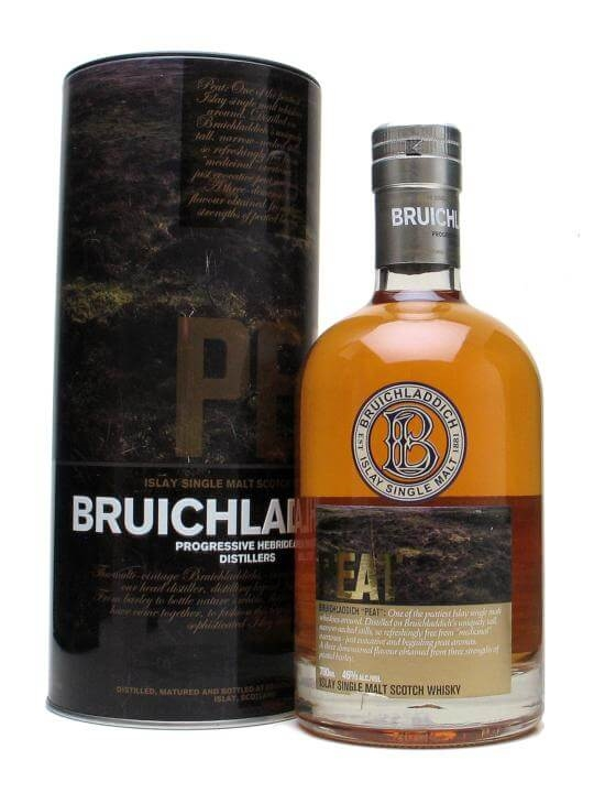 Bruichladdich Peat Islay Single Malt Scotch Whisky