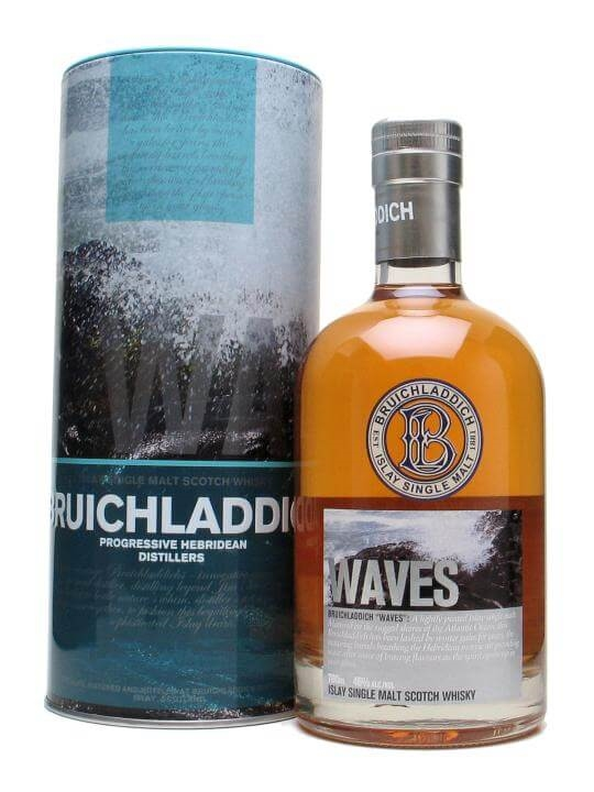 Bruichladdich Waves Islay Single Malt Scotch Whisky