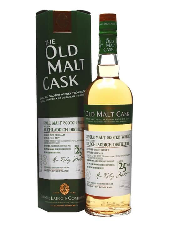 Bruichladdich 1988 / 25 Year Old / Cask #9810/ Old Malt Cask Islay Whisky