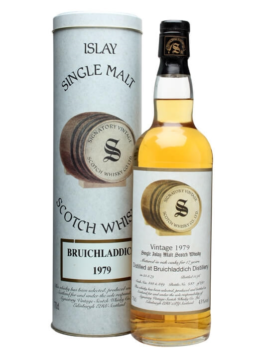 Bruichladdich 1979 / 17 Year Old / Cask #848+9 Islay Whisky