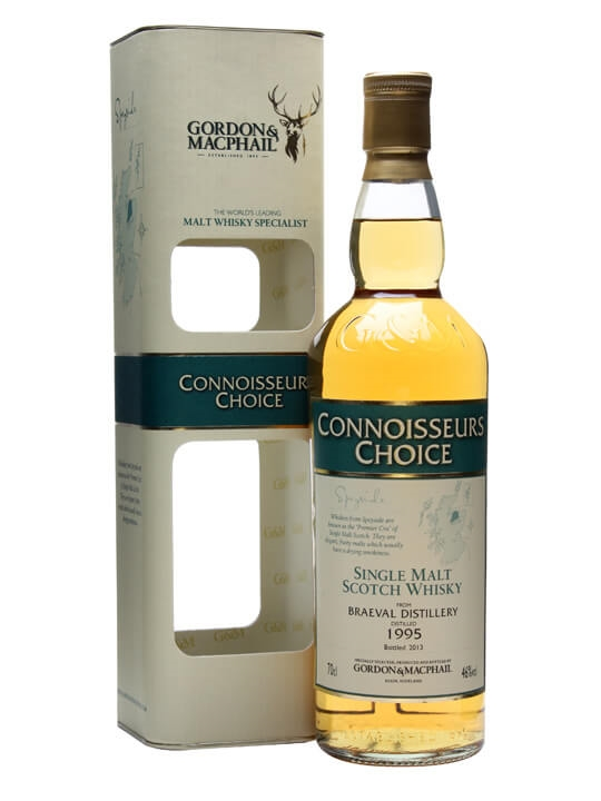 Braeval 1995 / Connoisseurs Choice Speyside Single Malt Scotch Whisky