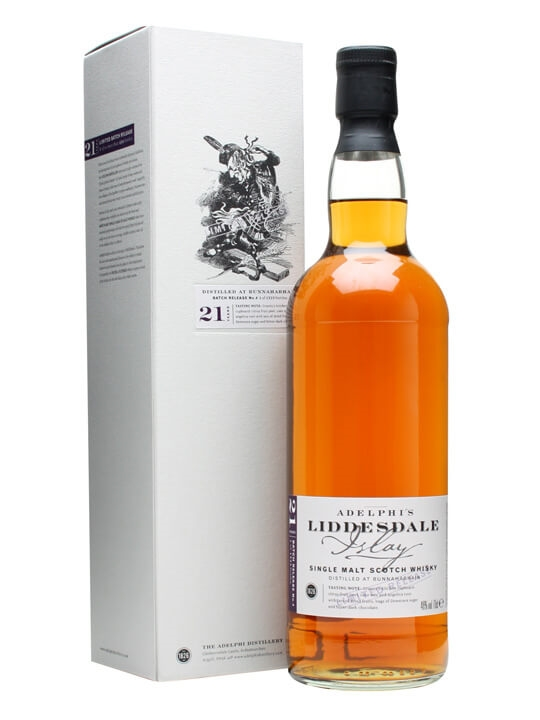 Adelphi's Liddesdale / 21 Year Old / Batch 4 Islay Whisky