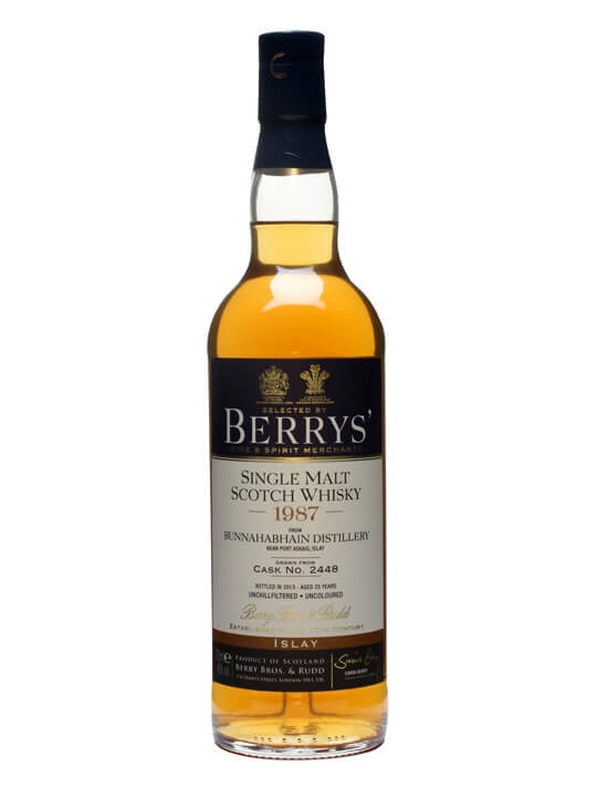 Bunnahabhain 1987 / 25 Year Old / Cask #2448 / Berry Bros Islay Whisky