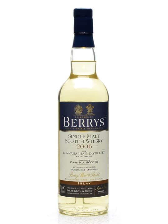 Bunnahabhain 2006 / 6 Year Old / Cask #800098 / Berry Bros Islay Whisky