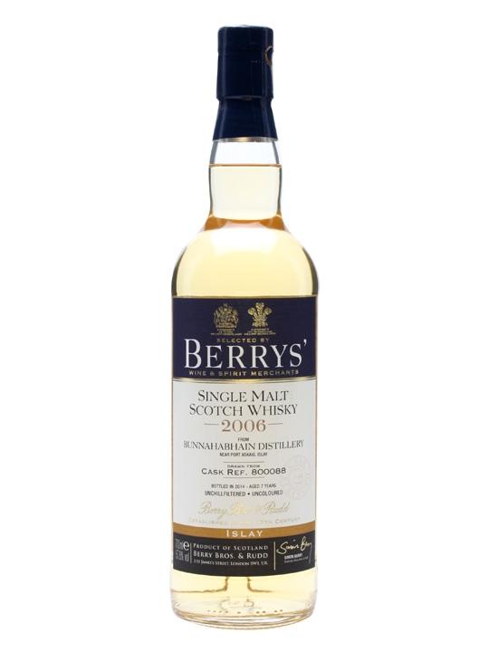 Bunnahabhain 2006 / Cask #800088 / Berry Brothers & Rudd Islay Whisky