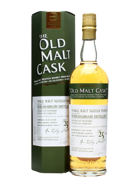 Bunnahabhain 1987 / 25 Year Old / Old Malt Cask #9516 Islay Whisky