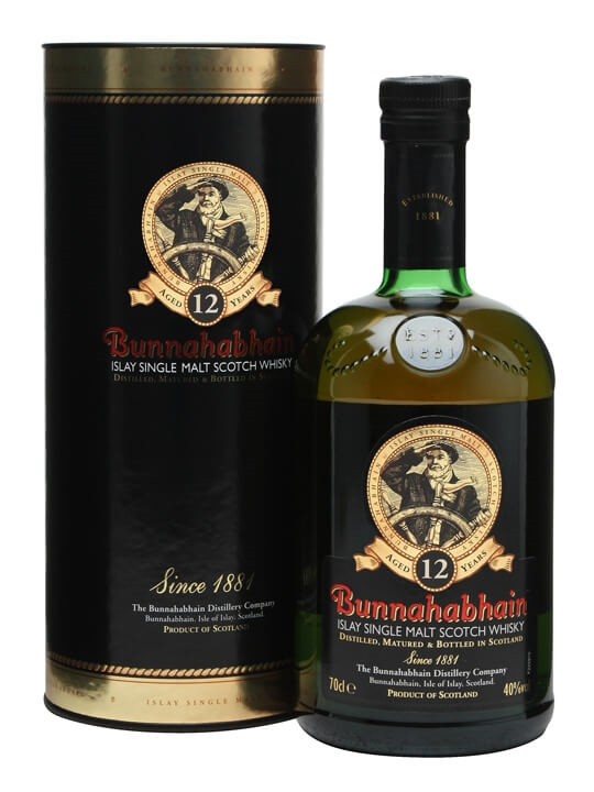 Bunnahabhain 12 Year Old / Old Presentation Islay Whisky