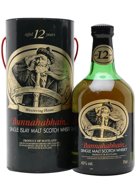 Bunnahabhain 12 Year Old / Bot.1980s Islay Single Malt Scotch Whisky