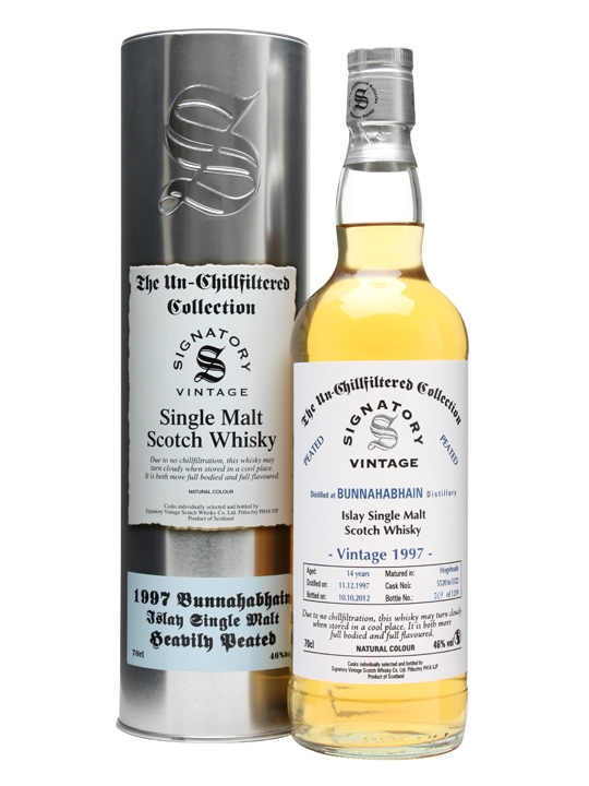 Bunnahabhain 1997 / 14 Year Old / Peated / Cask #5520-2 Islay Whisky