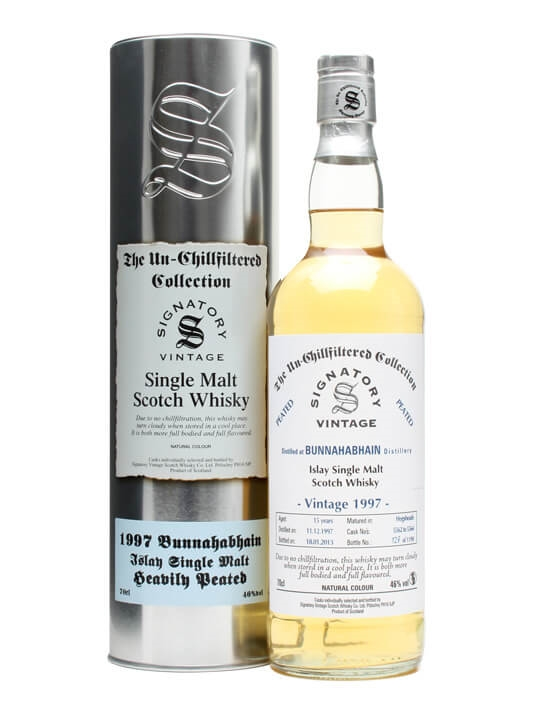 Bunnahabhain 1997 / 15 Year Old / Cask #5562-4 / Peated Islay Whisky