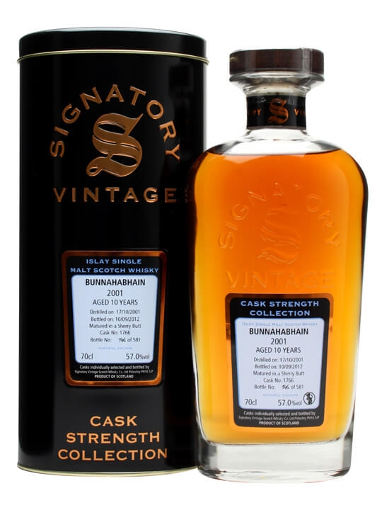 Bunnahabhain 2001 / 10 Year Old / Sherry Butt #1766 Islay Whisky