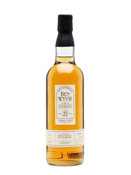 Ben Wyvis 1972  27 Year Old Highland Single Malt Scotch Whisky
