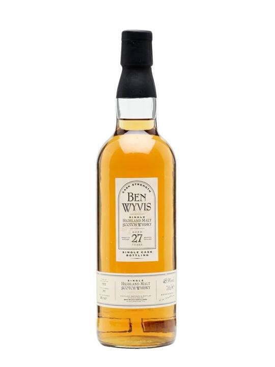 Ben Wyvis 1972  27 Year Old Highland Single Malt Scotch Whisky
