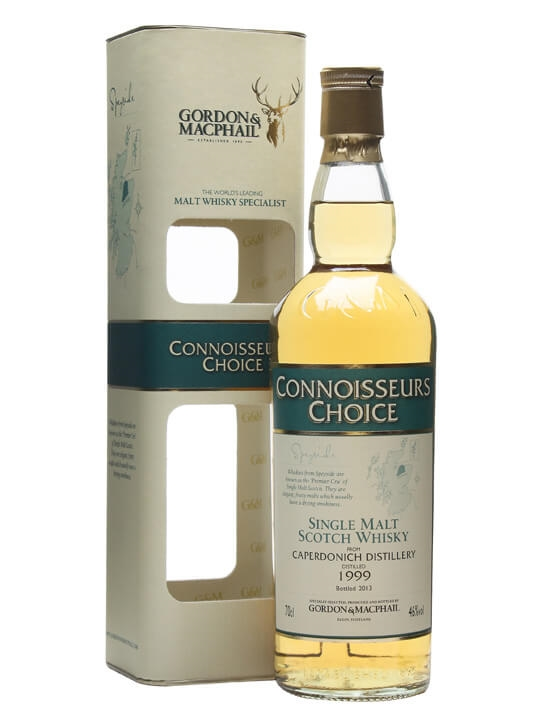 Caperdonich 1999 / Connoisseurs Choice Speyside Whisky