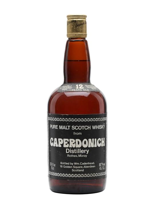Caperdonich 1965 / 12 Year Old Speyside Single Malt Scotch Whisky