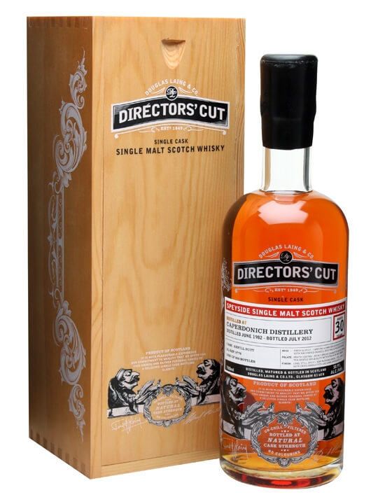 Caperdonich 1982 / 30 Year Old / Directors' Cut Speyside Whisky