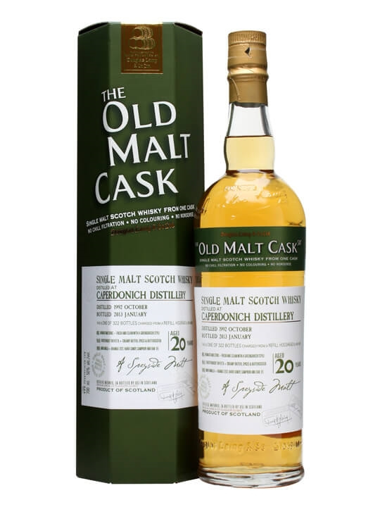 Caperdonich 1992 / 20 Year Old / Old Malt Cask #9321 Speyside Whisky