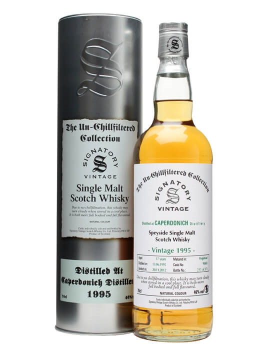 Caperdonich 1995 / 17 Year Old / Cask #95043 / Signatory Speyside Whisky