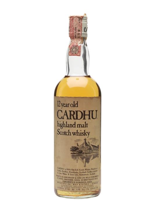Cardhu 12 Year Old / Bot.1980s Speyside Single Malt Scotch Whisky
