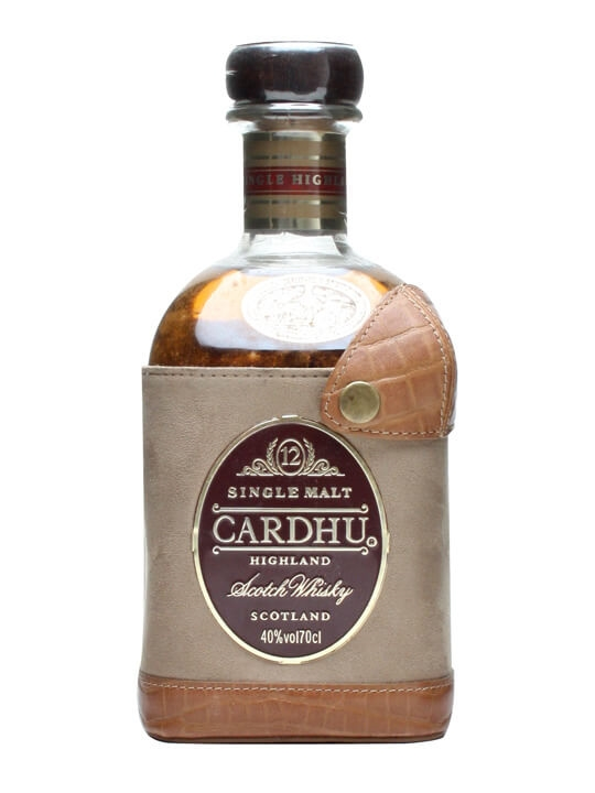 Cardhu 12 Year Old / Leather Pouch Speyside Single Malt Scotch Whisky