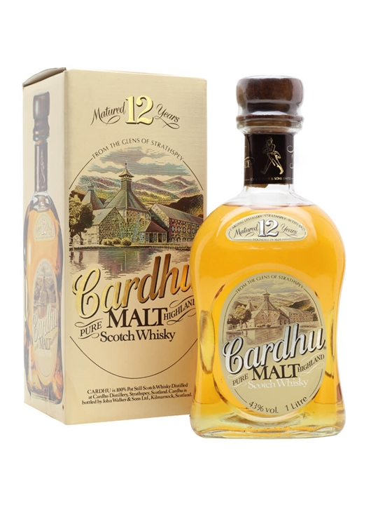 Cardhu 12 Year Old / Old Presentation Speyside Whisky