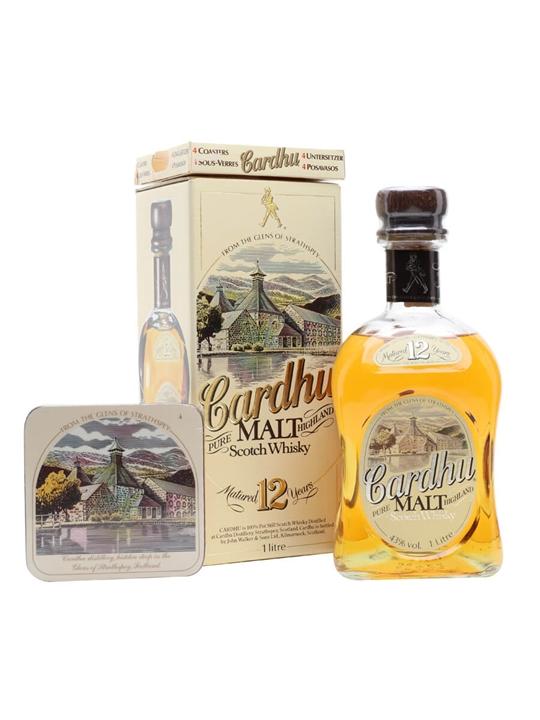 Cardhu 12 Year Old Speyside Single Malt Scotch Whisky