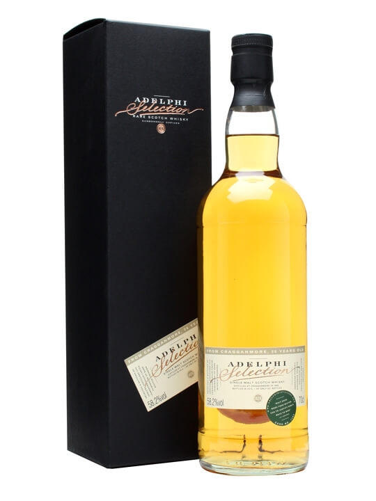 Cragganmore 1986 / 26 Year Old / Cask #1489 / Adelphi Speyside Whisky