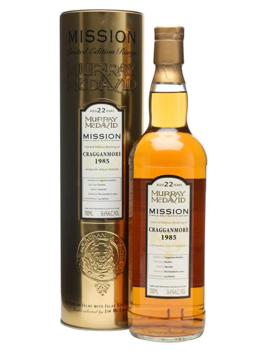 Cragganmore 1985 / 22 Year Old / Murray Mcdavid Speyside Whisky