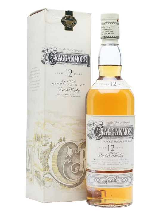 Cragganmore 12 Year Old / Old Presentation Speyside Whisky